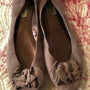 Steve Madden ballet flats, Sz 10, worn twice
